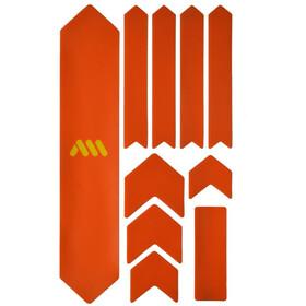 All Mountain Style Extra Kit di Protezione del Telaio 10 Pezzi, arancione/giallo